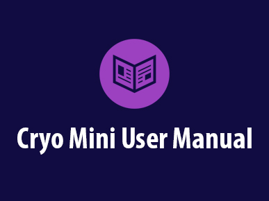 Zimmer Cryo Mini User Manual
